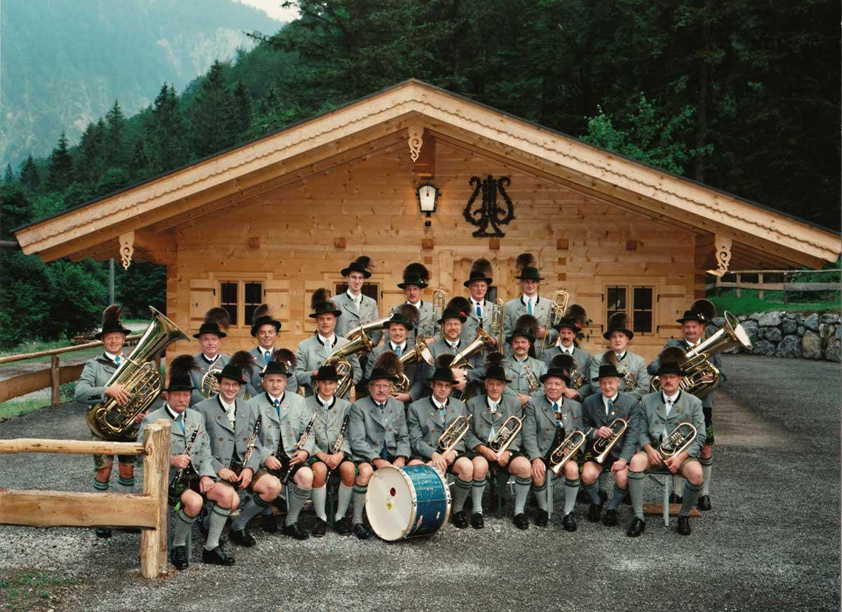 Einweihung des Musikheimes 2003